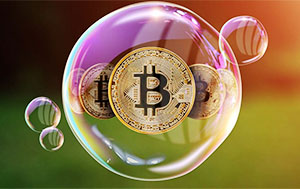 Bitcoin value at the present moment is 6 times greater than the pre-bubble
