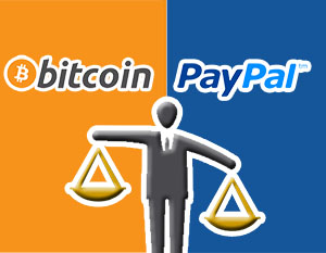 Bitcoin surpasses PayPal in terms of turnover