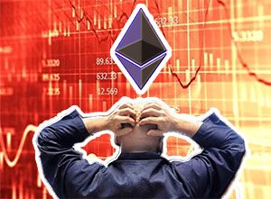 Ethereum plummets and Bitcoin also loses value