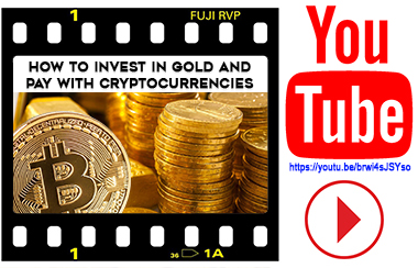 How to invest in gold and pay with cryptocurrencies